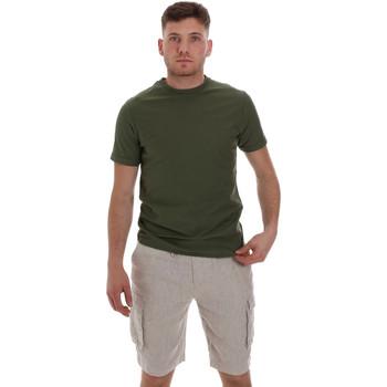 Abbigliamento Uomo T-shirt maniche corte Sseinse ME1548SS Verde