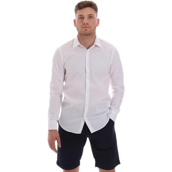 Abbigliamento Uomo Camicie maniche lunghe Sseinse CE506SS Bianco