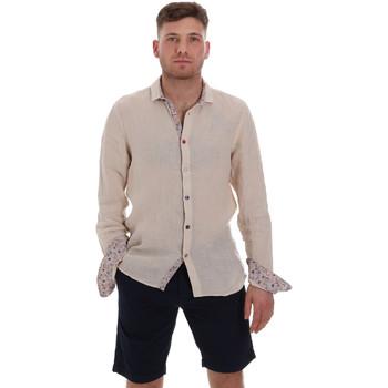 Abbigliamento Uomo Camicie maniche lunghe Sseinse CE538SS Beige