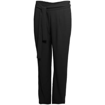 Abbigliamento Donna Pantaloni morbidi / Pantaloni alla zuava Smash S1829415 Nero
