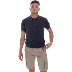 Abbigliamento Uomo Polo maniche corte Sseinse ME1513SS Blu