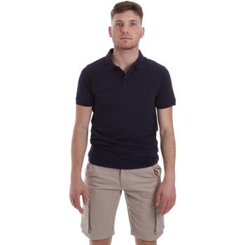 Abbigliamento Uomo Polo maniche corte Sseinse ME1517SS Blu