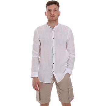Abbigliamento Uomo Camicie maniche lunghe Sseinse CE537SS Bianco