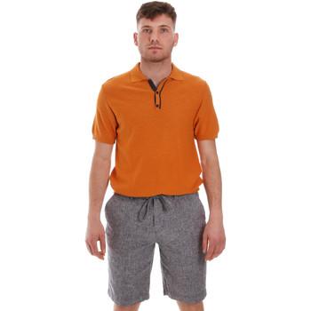 Abbigliamento Uomo Polo maniche corte Sseinse ME1528SS Arancio