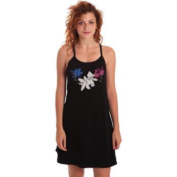 Abbigliamento Donna Abiti corti Key Up 5G30L 0001 Nero