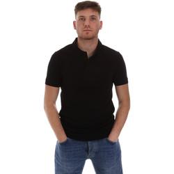 Abbigliamento Uomo Polo maniche corte Sseinse ME1517SS Nero