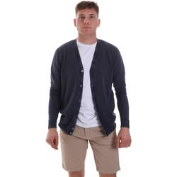 Abbigliamento Uomo Gilet / Cardigan Sseinse ME1511SS Blu