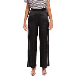 Abbigliamento Donna Pantaloni morbidi / Pantaloni alla zuava Y Not? 18PEY001 Nero