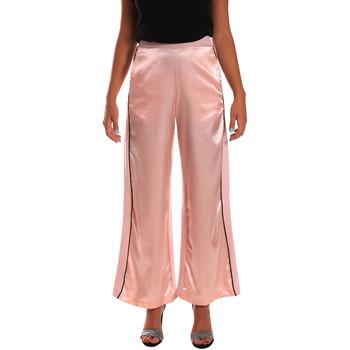 Abbigliamento Donna Pantaloni morbidi / Pantaloni alla zuava Y Not? 18PEY001 Rosa