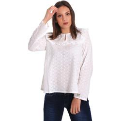 Abbigliamento Donna Top / Blusa Y Not? 18PEY018 Bianco