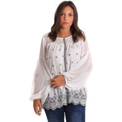 Abbigliamento Donna Top / Blusa Smash S1887419 Bianco