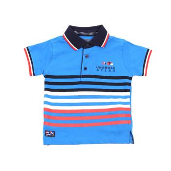 Abbigliamento Unisex bambino Polo maniche corte Losan 015-1037AL Blu
