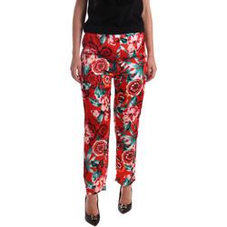 Abbigliamento Donna Pantaloni morbidi / Pantaloni alla zuava Gaudi 73FD20201 Arancio