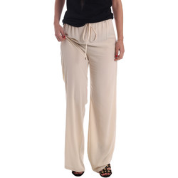 Abbigliamento Donna Pantaloni morbidi / Pantaloni alla zuava Gaudi 73FD25232 Beige