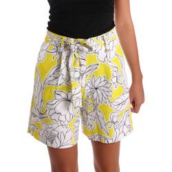 Abbigliamento Donna Shorts / Bermuda Y Not? 17PEY003 Giallo
