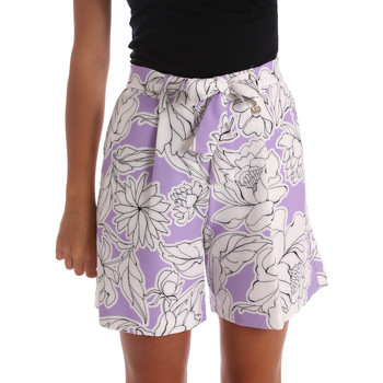 Abbigliamento Donna Shorts / Bermuda Y Not? 17PEY003 Viola