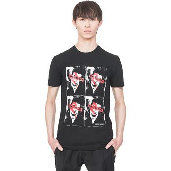 Abbigliamento Uomo T-shirt maniche corte Antony Morato MMKS01743 FA120001 Nero