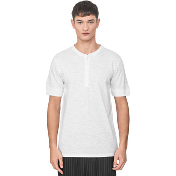 Abbigliamento Uomo T-shirt maniche corte Antony Morato MMKS01725 FA100139 Bianco