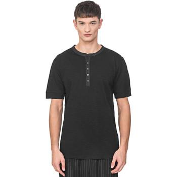 Abbigliamento Uomo T-shirt maniche corte Antony Morato MMKS01725 FA100139 Nero
