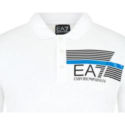 Abbigliamento Uomo Polo maniche corte Ea7 Emporio Armani 3HPF17 PJ02Z Bianco