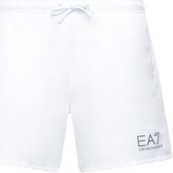 Abbigliamento Uomo Costume / Bermuda da spiaggia Ea7 Emporio Armani 902000 CC721 Bianco