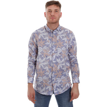 Abbigliamento Uomo Camicie maniche lunghe Sseinse CE502SS Blu