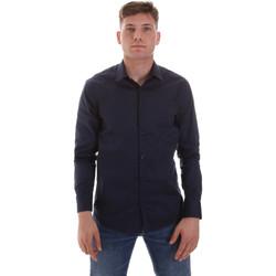 Abbigliamento Uomo Camicie maniche lunghe Sseinse CE506SS Blu