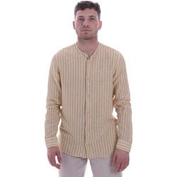 Abbigliamento Uomo Camicie maniche lunghe Sseinse CE534SS Beige
