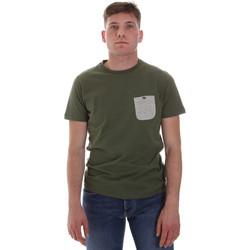 Abbigliamento Uomo T-shirt maniche corte Sseinse ME1588SS Verde