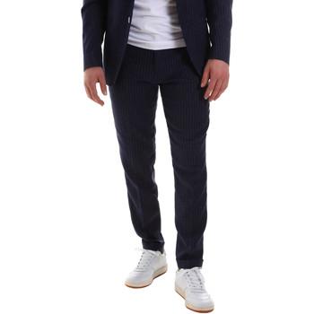 Abbigliamento Uomo Pantaloni da completo Sseinse PCE580SS Blu