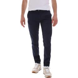 Abbigliamento Uomo Chino Sseinse PSE555SS Blu