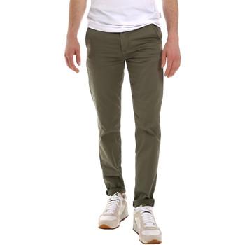 Abbigliamento Uomo Chino Sseinse PSE555SS Verde