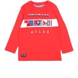 Abbigliamento Bambina T-shirts a maniche lunghe Losan 015-1002AL Rosso