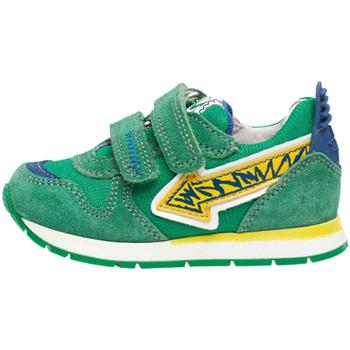 Scarpe Unisex bambino Sneakers basse Naturino 2014913 01 Verde