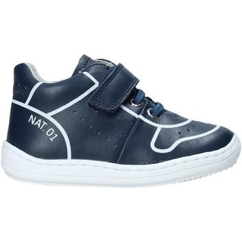 Scarpe Unisex bambino Sneakers alte Naturino 2013463 01 Blu