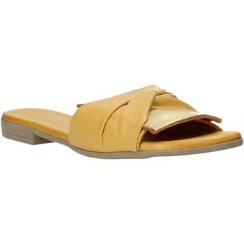 Scarpe Donna Ciabatte Bueno Shoes 9L2735 Giallo