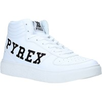 Scarpe Donna Sneakers alte Pyrex PY020207 Bianco