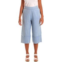 Abbigliamento Donna Pinocchietto Y Not? 18PEY043 Blu