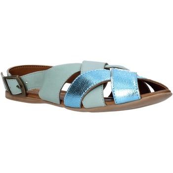 Scarpe Donna Sandali Bueno Shoes 9J2103 Blu