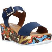 Scarpe Donna Sandali Grace Shoes 03 Blu