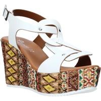 Scarpe Donna Sandali Grace Shoes 09 Bianco