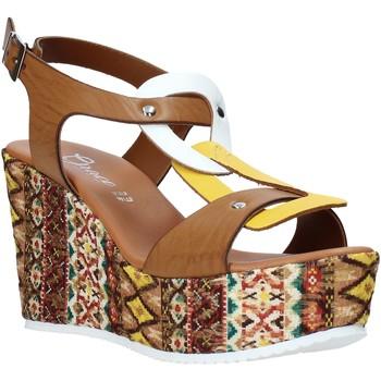 Scarpe Donna Sandali Grace Shoes 09 Marrone