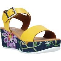 Scarpe Donna Sandali Grace Shoes 02 Giallo
