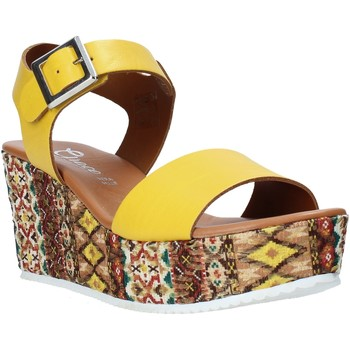 Scarpe Donna Sandali Grace Shoes 06 Giallo
