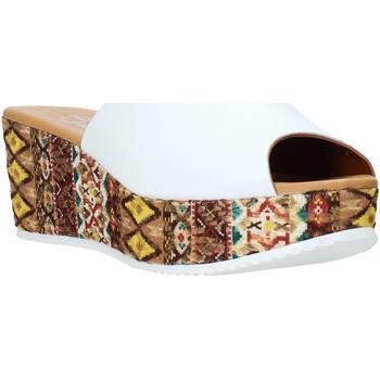 Scarpe Donna Ciabatte Grace Shoes 10 Bianco