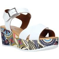 Scarpe Donna Sandali Grace Shoes 12 Bianco