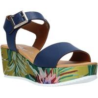 Scarpe Donna Sandali Grace Shoes 01 Blu