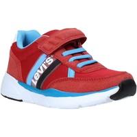 Scarpe Unisex bambino Sneakers basse Levi's VORE0031T Rosso