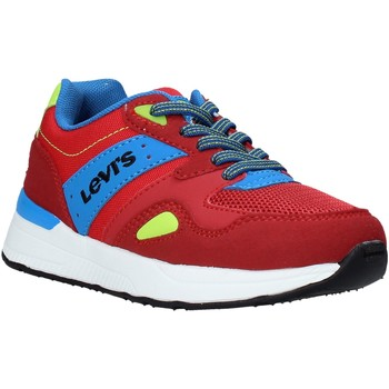 Scarpe Unisex bambino Sneakers basse Levi's VBOS0011T Rosso