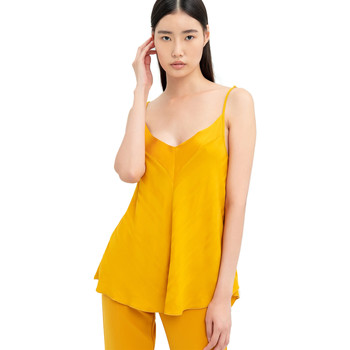 Abbigliamento Donna Top / Blusa Fracomina FR20SM551 Giallo